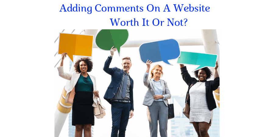 Adding Comments On A Website