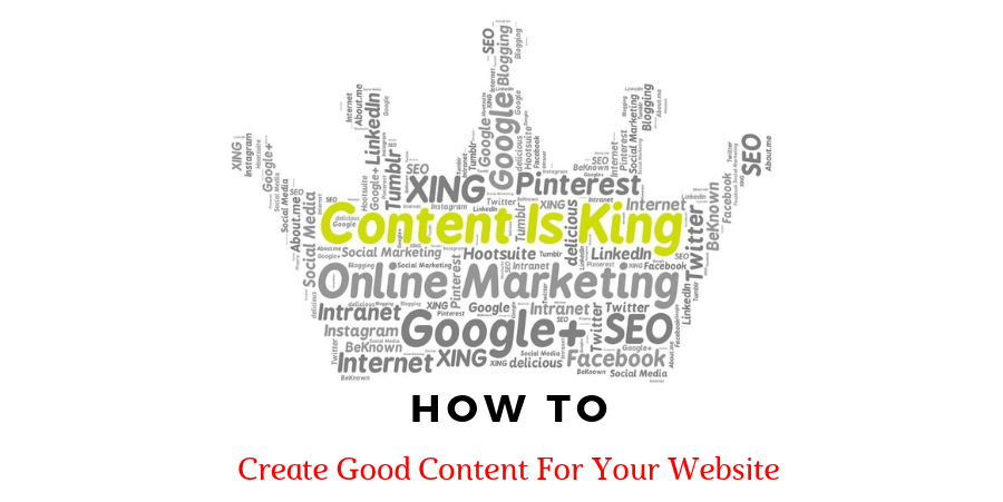How To Creat Good Content For A Website