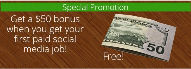 Fifty Dollar Bonus - The Paid Social Media Jobs Review