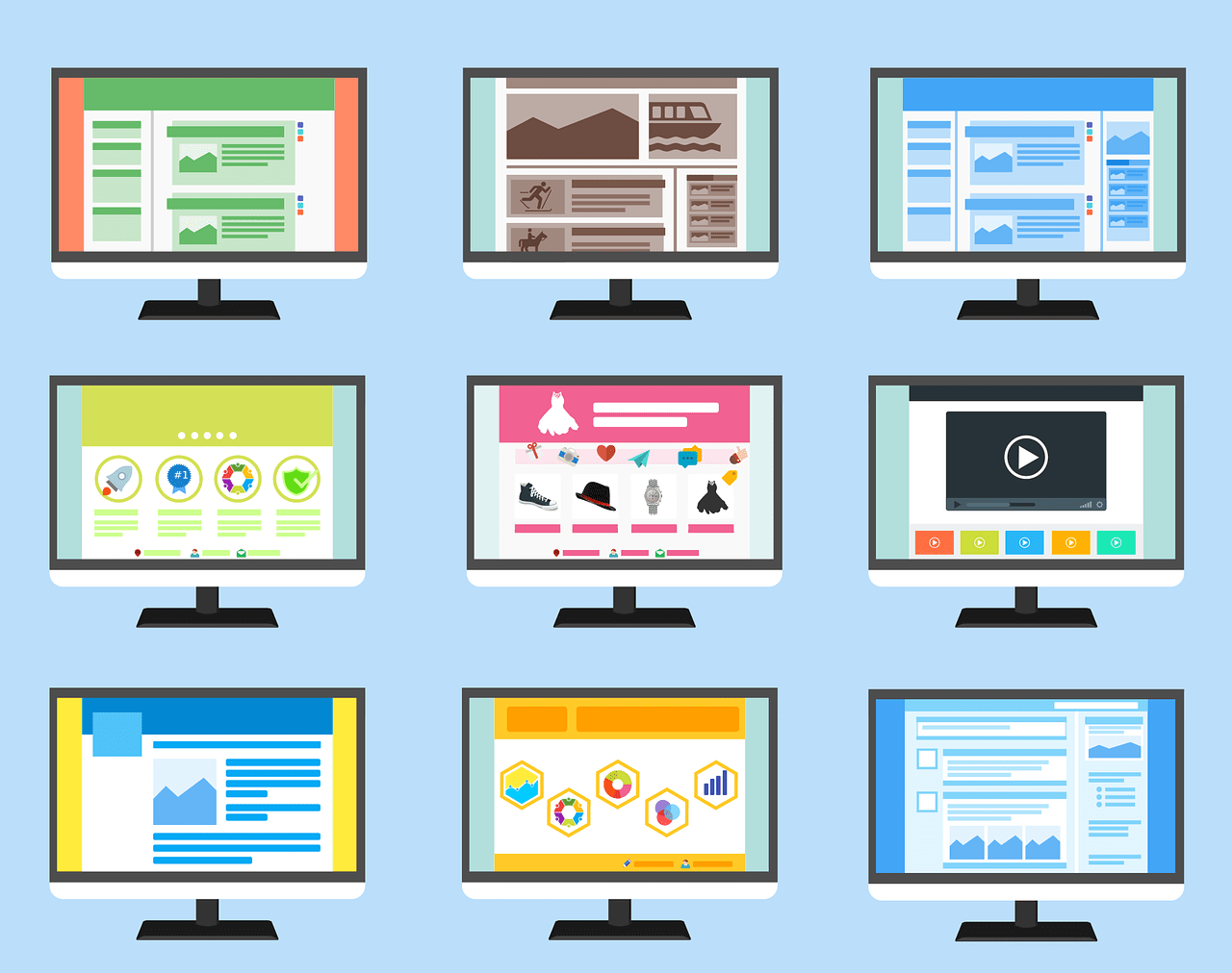 Select A Theme For Your Business Website
