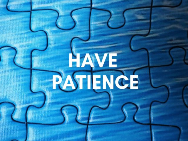 Have Patience - Top Reasons People Fail To Make Money Online