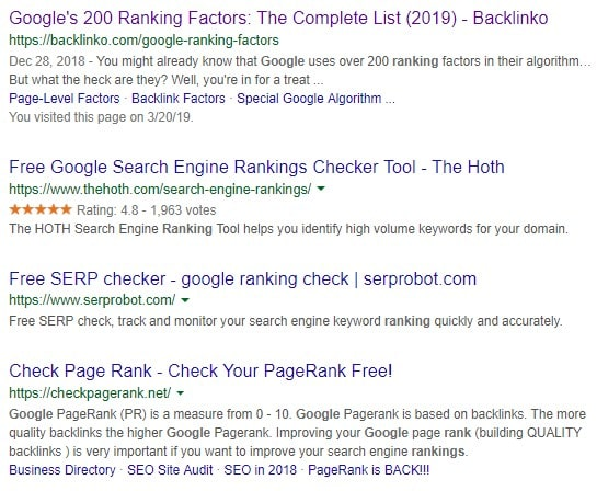 Page One Rankings - How To Get Ranked On The First Page Of Google