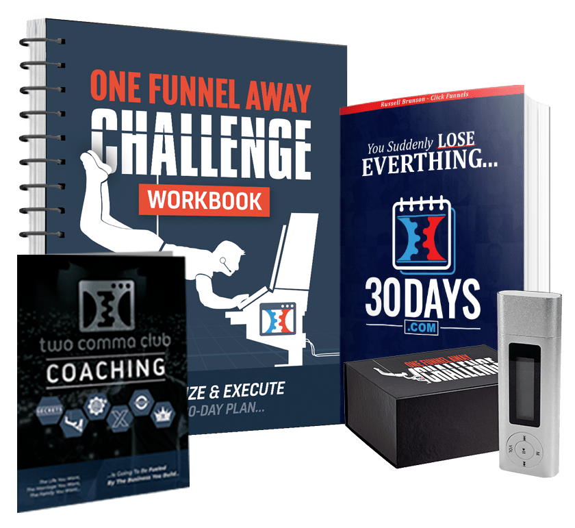What Is The One Funnel Away Challenge About - 30 Day Challenge Kit